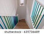 Domestic Wooden Staircase  Wit...
