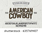 font. alphabet. script.... | Shutterstock .eps vector #635769407