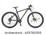 mountain bike  | Shutterstock . vector #635782505