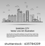 line art vector illustration of ...   Shutterstock .eps vector #635784209