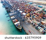 container vessel ship stay in
