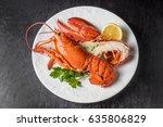 lobster | Shutterstock . vector #635806829