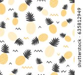 Pineapple Simple Vector...