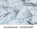 abstract 3d rendering of... | Shutterstock . vector #635826389