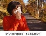 Pretty Woman Sneeze. Allergy...