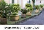 view of uz s  medieval town of... | Shutterstock . vector #635842421