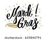 mardi gras card.beautiful...   Shutterstock .eps vector #635844791