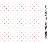 seamless pattern of pastel... | Shutterstock .eps vector #635854091