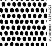 simple modern vector pattern.... | Shutterstock .eps vector #635911025
