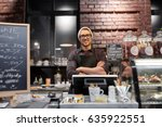 small business  people and... | Shutterstock . vector #635922551