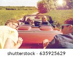 leisure  road trip  travel and... | Shutterstock . vector #635925629