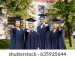 education  graduation and... | Shutterstock . vector #635925644