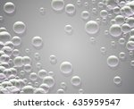 soap bubbles background with...   Shutterstock .eps vector #635959547