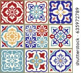 Collection Of 9 Ceramic Tiles...