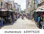 ho chi minh  vietnam   february ... | Shutterstock . vector #635975225