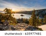 Sunrise At Emerald Bay On Lake...
