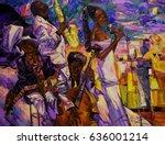 night club  jazz club  texture  ... | Shutterstock . vector #636001214