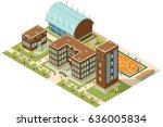 a vector illustration of... | Shutterstock .eps vector #636005834