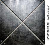metal construction background | Shutterstock . vector #63602110
