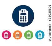payment method symbol. | Shutterstock .eps vector #636035801