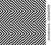 vector seamless pattern.... | Shutterstock .eps vector #636063509