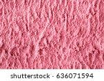 fruit pink ice cream texture... | Shutterstock . vector #636071594
