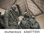 Detail Of Sculpture Inside The...