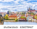 View Of The Prague Castle And...