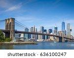 bright scenic daytime view of... | Shutterstock . vector #636100247