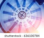 platelet rich plasma... | Shutterstock . vector #636100784