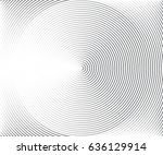 concentric circle elements ... | Shutterstock .eps vector #636129914