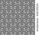 fish scale wallpaper. asian... | Shutterstock .eps vector #636133214