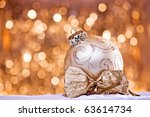 christmas decoration | Shutterstock . vector #63614734