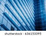 modern architecture tone in... | Shutterstock . vector #636153395