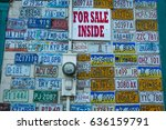 Small photo of AUGUST 25, 2016 - Giftshop Downtown Fairbanks, Alaska = Americana - signs