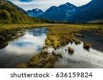 september 3  2016   chugach... | Shutterstock . vector #636159824