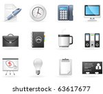 office and business icons | Shutterstock .eps vector #63617677