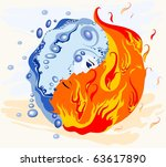 Symbol Yin And Yang. Harmony O...