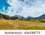 glenorchy countryside... | Shutterstock . vector #636188771