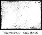 grunge border frame.grunge... | Shutterstock .eps vector #636215465