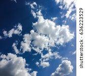 clouds.blue sky. | Shutterstock . vector #636223529