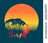 banner invitation summer...   Shutterstock .eps vector #636230495