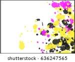 Splash Of Three Colors In...