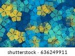 Seamless Pattern Of Stylized...