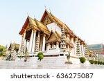 Thai Buddhist Temple Bangkok...