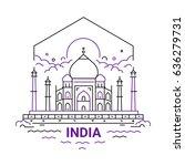 India   Modern Vector Line...
