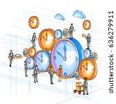 easy to edit vector... | Shutterstock .eps vector #636279911