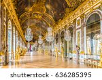versailles  france   may 25... | Shutterstock . vector #636285395