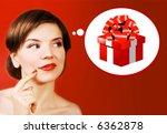 christmas girl   Shutterstock . vector #6362878