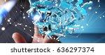 businessman on blurred...   Shutterstock . vector #636297374